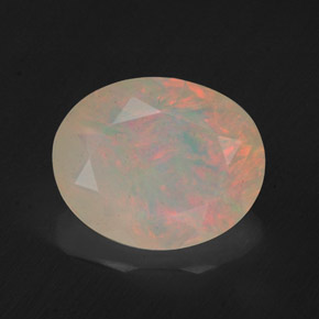 1.57 ct Natural Multicolor Opal