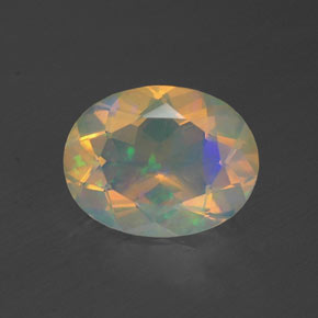1.23 ct Natural Multicolor Opal