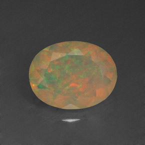 1.14 ct Natural Multicolor Opal