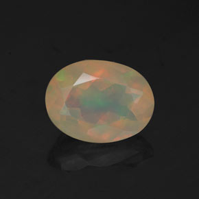 Buy 0.97 ct Multicolor Opal 8.23 mm x 6.2 mm from GemSelect (Product ID: 321288)