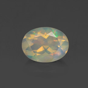 Buy 0.98 ct Multicolor Opal 8.23 mm x 6.2 mm from GemSelect (Product ID: 321312)