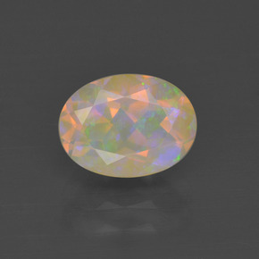 Buy 1.06 ct Multicolor Opal 8.29 mm x 6.2 mm from GemSelect (Product ID: 321313)