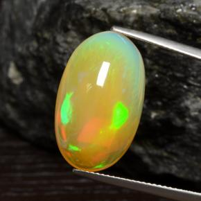 14.39 ct Oval Cabochon Mehrfarbig Opal Edelstein 22.20 mm x 13.6 mm (Product ID: 462223)