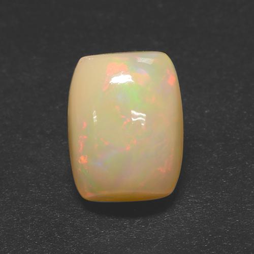 Multicolor Opal Gem - 2.4ct Cushion Cabochon (ID: 505722)