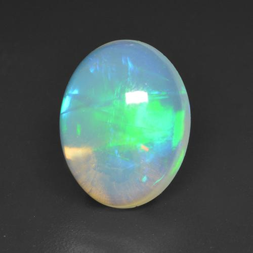 1.6ct Oval Cabochon Multicolor Opal Gem (ID: 533103)