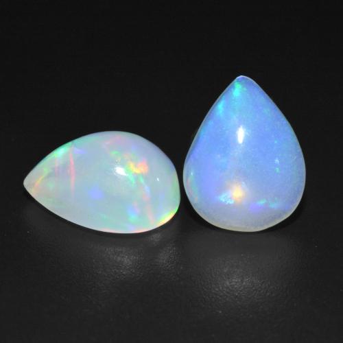 160 Pieces Lots White Opalite Gemstone Cabochon 7x5 Rectangle Shape Opalite Cabochon Loose Gemstones Opalite Lab Created Gemstone M108