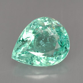 Paraiba Tourmaline 3 3 Carat Pear From Mozambique Natural