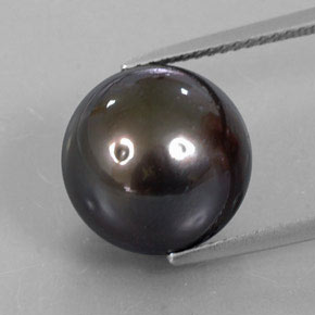 thumb image of 13.3ct Spherical Silver Pearl (ID: 338287)