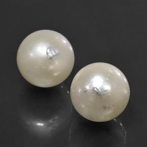 Cream Pearl Gem - 11.4ct Spherical (ID: 503134)
