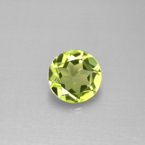 Buy 1.19 ct Lively Green Peridot 6.99 mm  from GemSelect (Product ID: 288546)