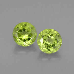 Buy 1.95ct Lively Green Peridot 5.81mm  from GemSelect (Product ID: 294564)