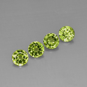 Buy 3.14 ct Lively Green Peridot 5.96 mm  from GemSelect (Product ID: 294576)