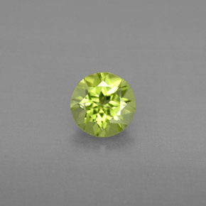 Buy 0.84 ct Lively Green Peridot 6.05 mm  from GemSelect (Product ID: 295381)