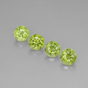 Buy 3.83 ct Lively Green Peridot 5.90 mm  from GemSelect (Product ID: 296006)