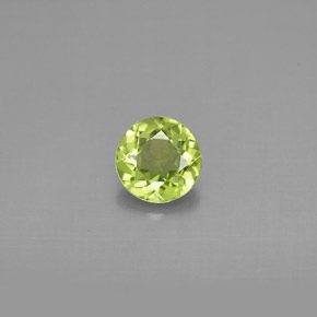 Buy 0.85 ct Lively Green Peridot 6.01 mm  from GemSelect (Product ID: 296011)
