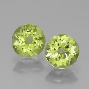 Buy 1.56 ct Lively Green Peridot 5.75 mm  from GemSelect (Product ID: 314945)