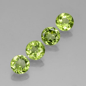 Buy 3.18ct Lively Green Peridot 5.97mm  from GemSelect (Product ID: 315249)
