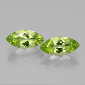 Buy 1.24 ct Lively Green Peridot 8.32 mm x 4 mm from GemSelect (Product ID: 315768)