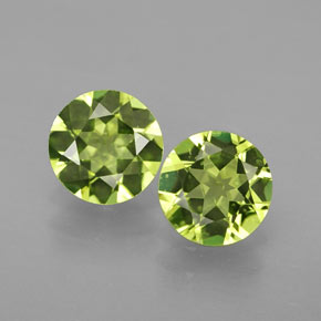 Buy 1.38 ct Lively Green Peridot 6.00 mm  from GemSelect (Product ID: 316029)