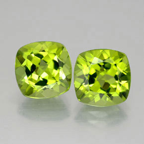 Buy 5.94 ct Lively Green Peridot 8.73 mm x 8.6 mm from GemSelect (Product ID: 322721)