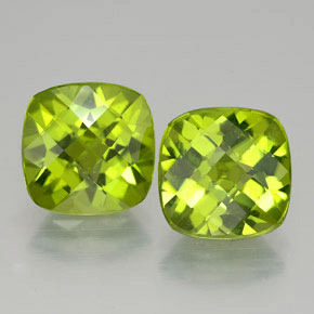 Buy 6.27 ct Lively Green Peridot 9.11 mm x 9.1 mm from GemSelect (Product ID: 322724)