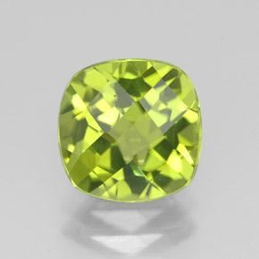 Buy 2.33 ct Lively Green Peridot 8.18 mm x 8.2 mm from GemSelect (Product ID: 322887)
