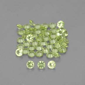 Buy 1.45 ct Lively Green Peridot 2.01 mm  from GemSelect (Product ID: 341599)