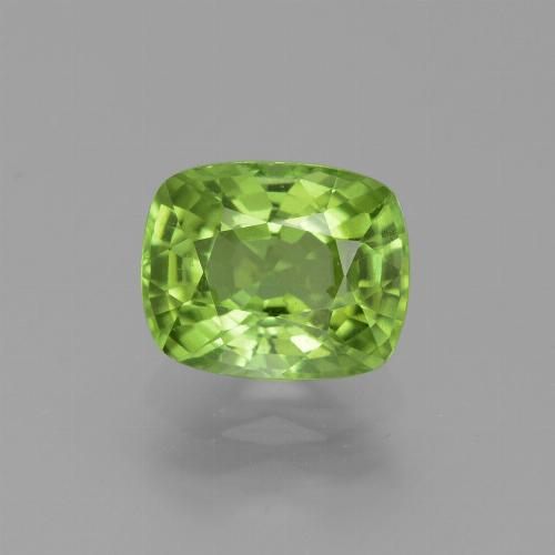 thumb image of 2.4ct Cushion-Cut Lively Green Peridot (ID: 445817)