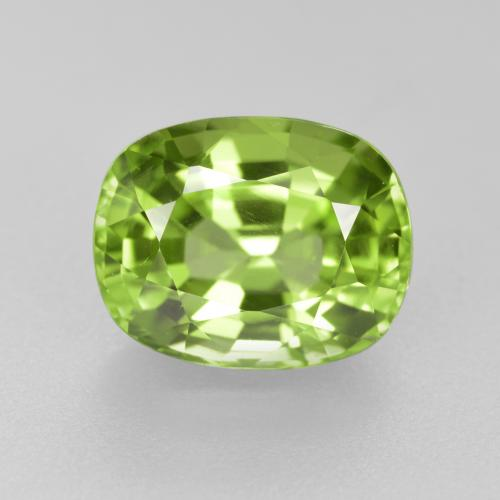 Medium Green Peridoto Gema - 2.6ct Forma ovalada (ID: 446171)