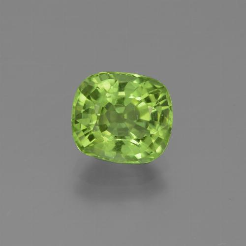 thumb image of 2.3ct Cushion-Cut Lively Green Peridot (ID: 446989)