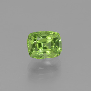 Lively Green Peridot Gem - 1.9ct Cushion-Cut (ID: 447054)