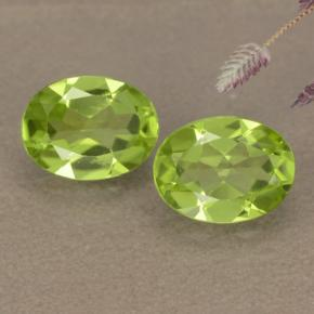 1.3ct Oval Facet Lively Green Peridot Gem (ID: 481139)