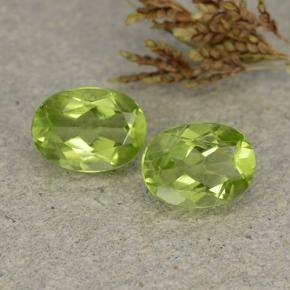 thumb image of 2.7ct Oval Facet Lively Green Peridot (ID: 484407)
