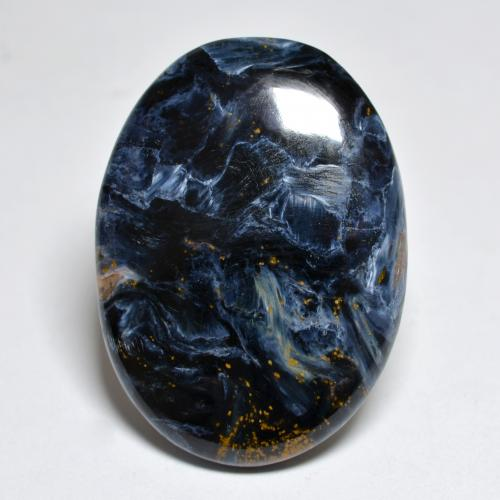 Multicolor Pietersite Gem - 27.2ct Oval Cabochon (ID: 456676)
