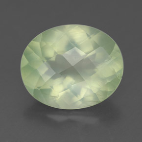 Buy 4.28 ct Green Prehnite 11.96 mm x 9.9 mm from GemSelect (Product ID: 225172)