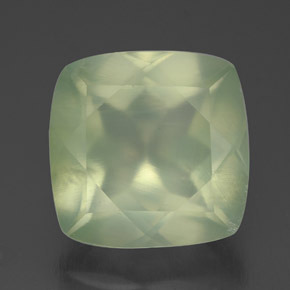 Buy 7.13ct Green Prehnite 11.88mm x 11.79mm from GemSelect (Product ID: 304577)
