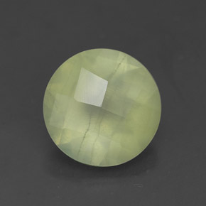 Buy 1.67ct Green Prehnite 7.98mm  from GemSelect (Product ID: 305242)