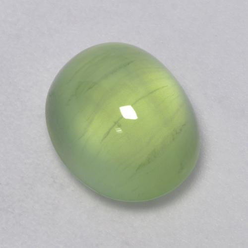 Buy 3.11 ct Green Prehnite 9.24 mm x 7.7 mm from GemSelect (Product ID: 321065)