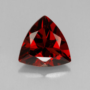 1 8ct Deep Red Pyrope Garnet Gem From Mozambique Natural