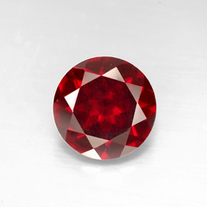 Buy 3.20ct Deep Red Pyrope Garnet 9.10mm  from GemSelect (Product ID: 278328)