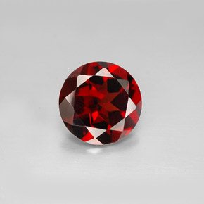 Buy 2.86 ct Deep Red Pyrope Garnet 9.05 mm  from GemSelect (Product ID: 280174)