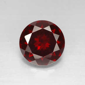 3.28 ct Natural Deep Red Pyrope Garnet