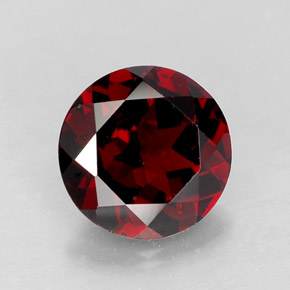 Buy 2.90 ct Deep Red Pyrope Garnet 8.96 mm  from GemSelect (Product ID: 280201)