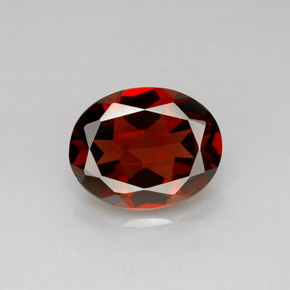 Buy 2.92 ct Deep Red Pyrope Garnet 9.95 mm x 7.9 mm from GemSelect (Product ID: 281269)