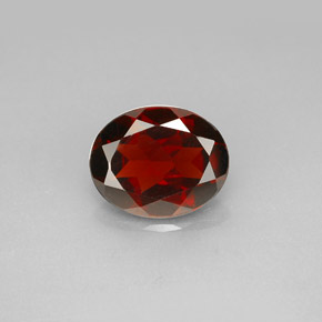 Buy 2.98 ct Deep Red Pyrope Garnet 10.09 mm x 8.1 mm from GemSelect (Product ID: 281296)