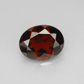 2.98 ct Natural Deep Red Pyrope Garnet