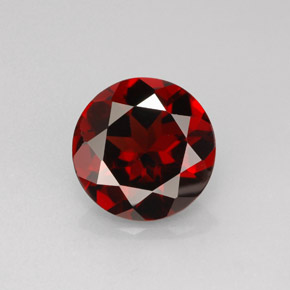 Buy 2.92 ct Deep Red Pyrope Garnet 9.04 mm  from GemSelect (Product ID: 281403)