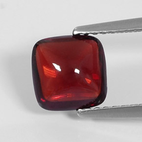 Buy 2.05 ct Deep Red Pyrope Garnet 7.25 mm x 7.2 mm from GemSelect (Product ID: 289636)