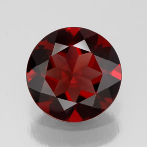 Buy 2.52ct Deep Red Pyrope Garnet 9.03mm  from GemSelect (Product ID: 308453)