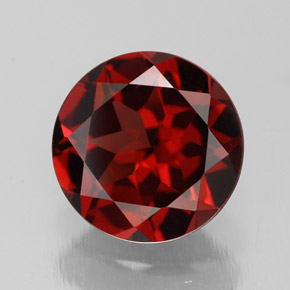 Buy 2.92ct Deep Red Pyrope Garnet 9.06mm  from GemSelect (Product ID: 308457)